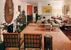 Great Design – 20s | Architectural Digest – living room 1960