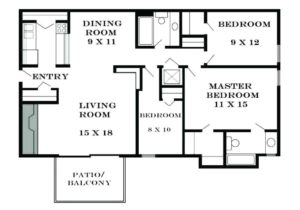 Home remodeling: The average room size in a house in United States – living room dimensions