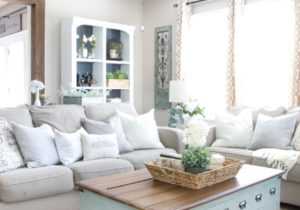 How We Keep Our Living Room Organized – Bless'er House – living room organization
