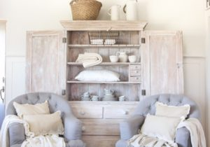 Hutch in the Living Room – Love Grows Wild – living room hutch