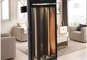 Infrared Electric Quartz Heater Living Room Space Heating Radiant ..