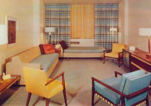 Interior: Home Decor of the 20s | Ultra Swank – living room 1960