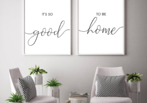 It's So Good to be Home Printable, Living Room Signs, Home Sign ..