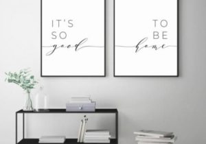It's So Good To Be Home Printable Sign Set, Bedroom Quote Decor ..
