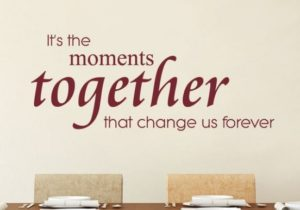 It's The Moments Living Room Wall Decor Quote, Living Room Wall Art,  Inspirational Wall Quotes, Living Room Wall Decal – living room quotes