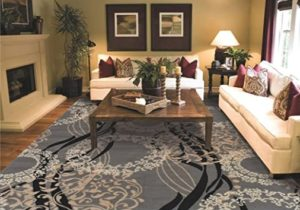 Large Area Rugs for Living Room 17×17 Gray – for living room
