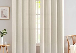 Linen Textured Curtains for Bedroom 200 inch Room Darkening Grommet Top  Window Curtains for Living Room Kitchen Drapes Greyish Beige 20 Panels – living room curtains