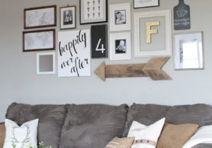 Living Room Gallery Wall | Cheap home decor, Home living room ..