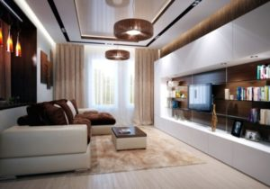 Living room interior design ideas – brown is modern | Interior ..