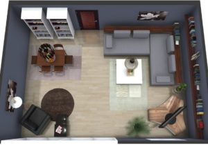 Living Room Plan | RoomSketcher – living room floor plan