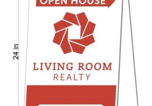 Living Room Realty – Signs – Buz White Screenprint Inc