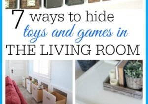 Living Room Toy Storage Ideas | Living room toy storage, Family ..