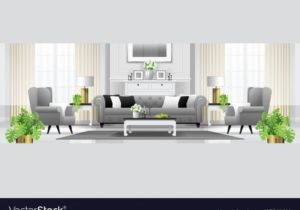 Luxury living room interior background – living room background