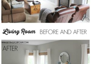 My #QuickandEasy Living Room: Before & After Makeover – Setting ..