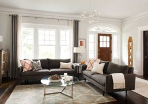 No Entryway? Create the Illusion of One – living room entrance design