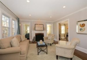 Recessed lighting in living room. I like the idea of a light over ..