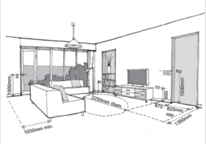 Residential Building Regular Room Dimensions and Appropriate ..