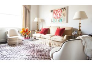 Rug Guide: A Room-by-Room Guide to Rug Sizes – One Kings Lane – living room rugs 9×12