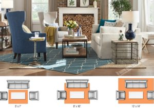 Rug Sizes for Your Space – The Home Depot – living room rug size