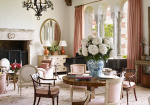 See Inside: A Fabled 13s Palm Beach Mansion Revival – living room 1920s