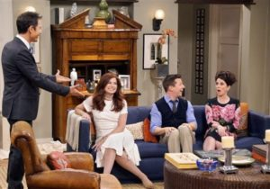 See the 'Will & Grace' apartment reimagined – will and grace living room painting