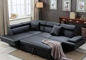 Sofa Sectional Sofa for Living Room Futon Sofa Bed Couches and Sofas  Sleeper Sofa Modern Sofa Corner Sofa Faux Leather Queen 14 Piece Modern ..