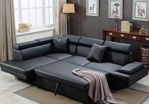 Sofa Sectional Sofa for Living Room Futon Sofa Bed Couches and Sofas  Sleeper Sofa Modern Sofa Corner Sofa Faux Leather Queen 20 Piece Modern ..
