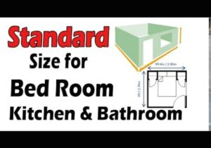 Standard Size for Bedroom ,Master room , Living room, Kitchen, Bathroom and  closet etc – living room size