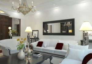 Tips for Displaying Large Mirrors in a Living Room – living room mirrors