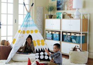 Top 15 Easy Toy Storage Ideas | Crate and Barrel – living room toy storage