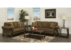 Traditional Brown 20 Piece Living Room Set – Montgomery – living room 5 piece sets
