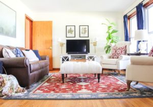 Traditional Casual Living Room Updates – living room updates