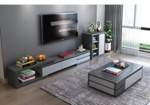 US $19.19 19% OFF|TV Stand modern Living Room TV monitor stand mueble  stalinite cabinet mesa+tv table stand+ Coffee centro Table home  furniture|TV ..