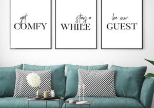 US $20.20 20% OFF Simple Quotes Canvas Painting Minimalist Wall Art Posters  and Prints Wall Pictures for Living Room Guest Room Decor Painting & ..