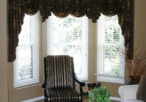 Valances for Bay Windows in Living Room | Curtains living room ..