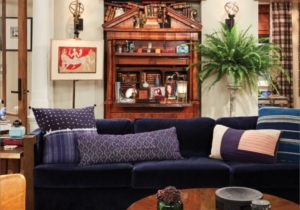 Will's Apartment from Will & Grace – Scene Therapy – will and grace living room painting